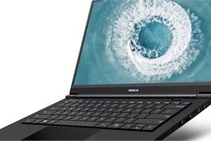 Chiếc laptop đầu tiên mang thương hiệu Nokia