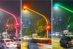 Ấn Độ thử nghiệm lắp đặt đèn giao thông full-LED độc lạ ở Mumbai