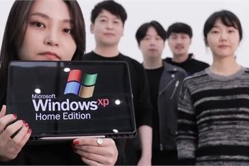 Thú vị ban nhạc tái hiện âm thanh trên Windows theo phong cách Acapella