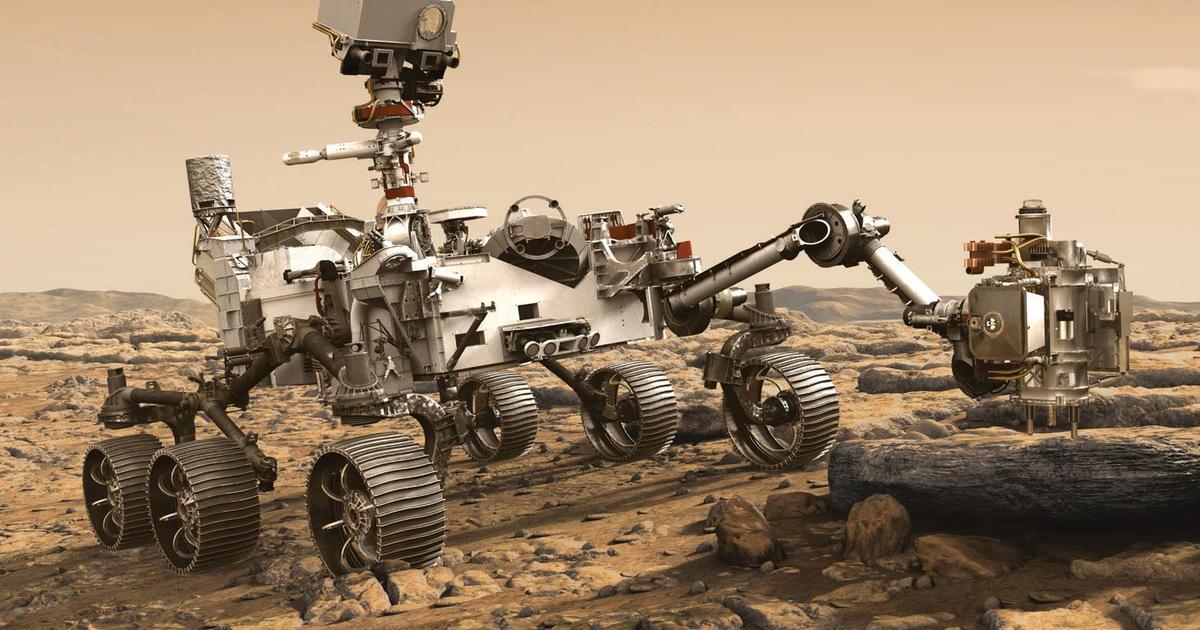 Robot của NASA vừa hạ cánh xuống Hỏa Tinh dùng chip