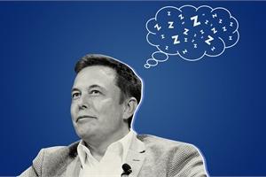 """Elon Musk: """"Ngủ ít hơn 6 tiếng một ngày giảm hiệu năng làm việc"""""""
