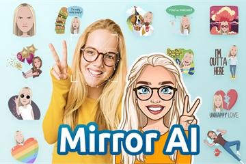 Mẹo hay biến gương mặt của chính bạn thành sticker hài hước trên smartphone