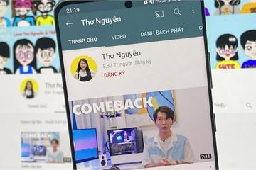 """Kênh YouTube Thơ Nguyễn bất ngờ """"hồi sinh"""""""