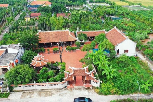 'Biệt phủ' 1.700m2 toàn cây cảnh bạc tỷ của gia đình ở Nam Định