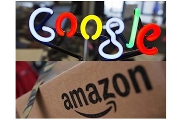 """Amazon và Google chi tiền khủng để """"vận động hành lang"""" các chính trị gia"""