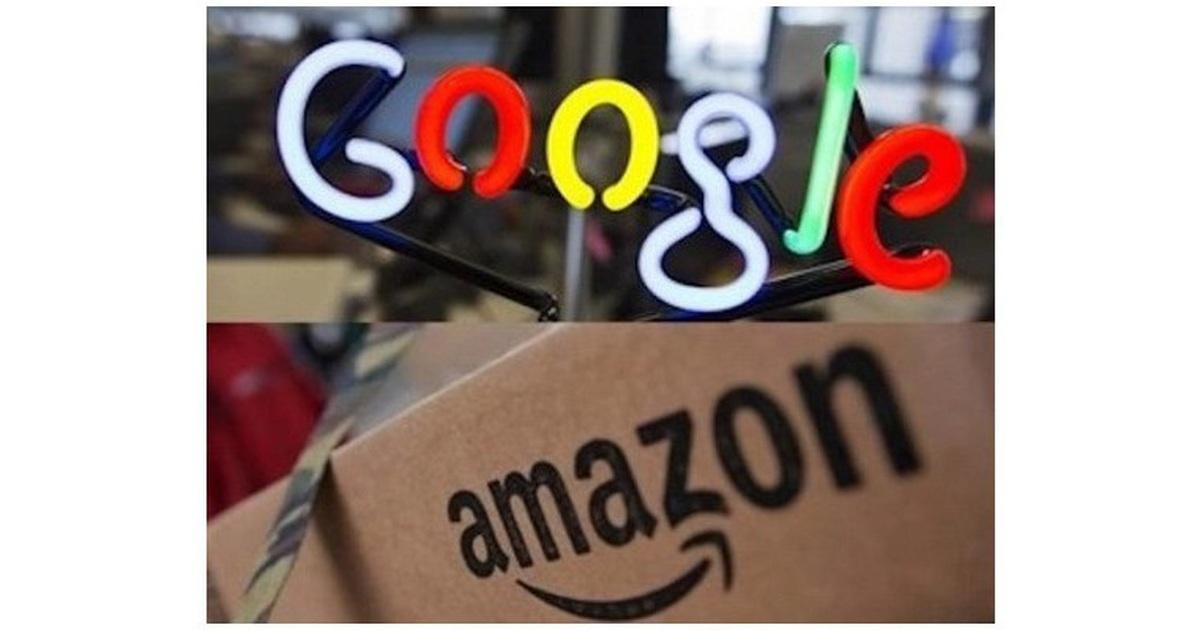 Amazon và Google chi tiền khủng để
