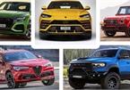 Những mẫu SUV máy xăng chạy nhanh nhất hiện nay