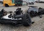 Siêu xe McLaren bị cháy thành tro vẫn được rao bán