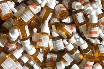 Nơi làm giả hàng nghìn lọ serum sáng da Vitamin C Balance