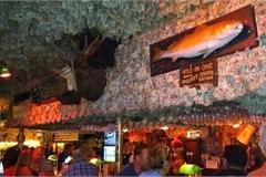 Quán bar hút khách nhờ... dán hơn 46 tỷ đồng trên trần nhà