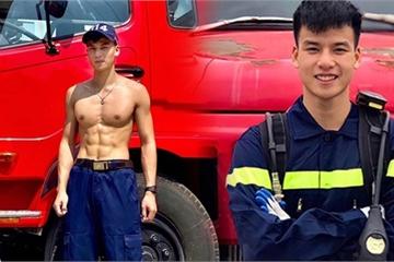 """""""Cực phẩm"""" lính cứu hỏa Lạng Sơn body 6 múi, thần thái như diễn viên"""