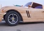 """Tầm cao mới của siêu xe bằng gỗ """"Made in Việt Nam"""""""