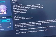 """Hacker """"quát giá"""" gấp đôi nếu người mua muốn có độc quyền mã nguồn của BKAV"""