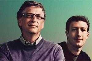 Những điểm tương đồng thú vị giữa Bill Gates và Mark Zuckerberg