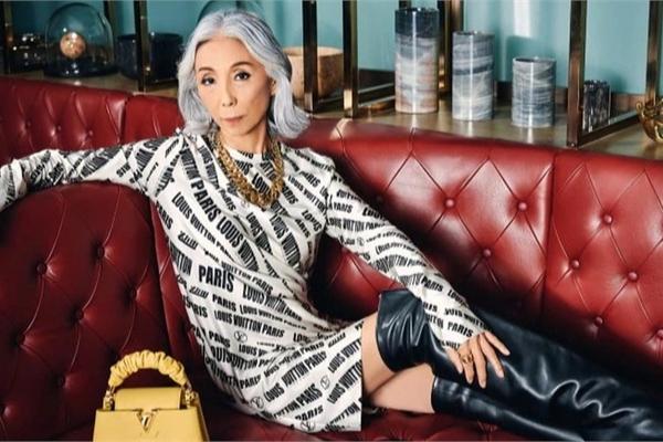 Người mẫu 65 tuổi 'chất lừ' đang dẫn đầu làng mốt Singapore
