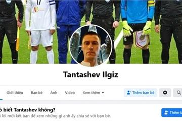 Mọc lên hàng trăm trang Facebook giả mạo trọng tài người Uzbekistan