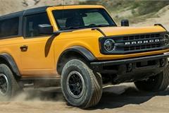 """Kỳ lạ Ford Bronco 2021 """"hàng lướt"""" có giá bán cao gấp đôi giá niêm yết"""