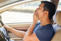 Lái xe khi buồn ngủ - Hiểm họa khôn lường nhưng tài xế Việt vẫn chủ quan