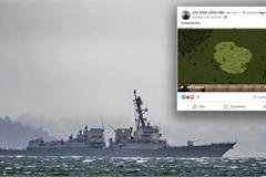 Trang Facebook của tàu chiến Mỹ bị hacker chiếm đoạt