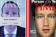 Tạp chí Time gây sốc vì dùng ảnh Mark Zuckerberg để kêu gọi xóa Facebook
