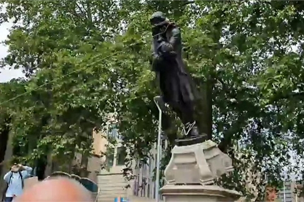 George Floyd protests: The statues being defaced