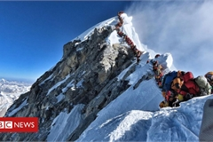 Mount Everest: Nepal's government shuts off mountain amid virus outbreak