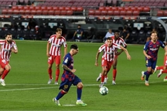 Lionel Messi: Barcelona forward scores 700th goal in draw with Atletico Madrid