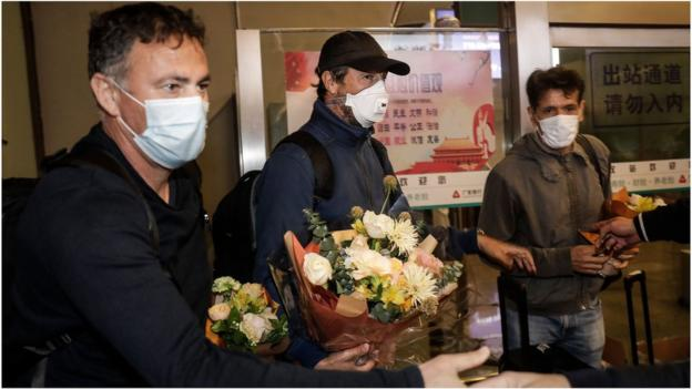 Coronavirus: Chinese Super League team return home to Wuhan after 104 days abroad