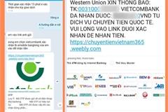Lừa đảo người bán hàng online bằng website chuyển tiền giả mạo