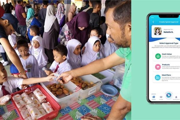 Ví điện tử đầu tiên cho học sinh tại Malaysia
