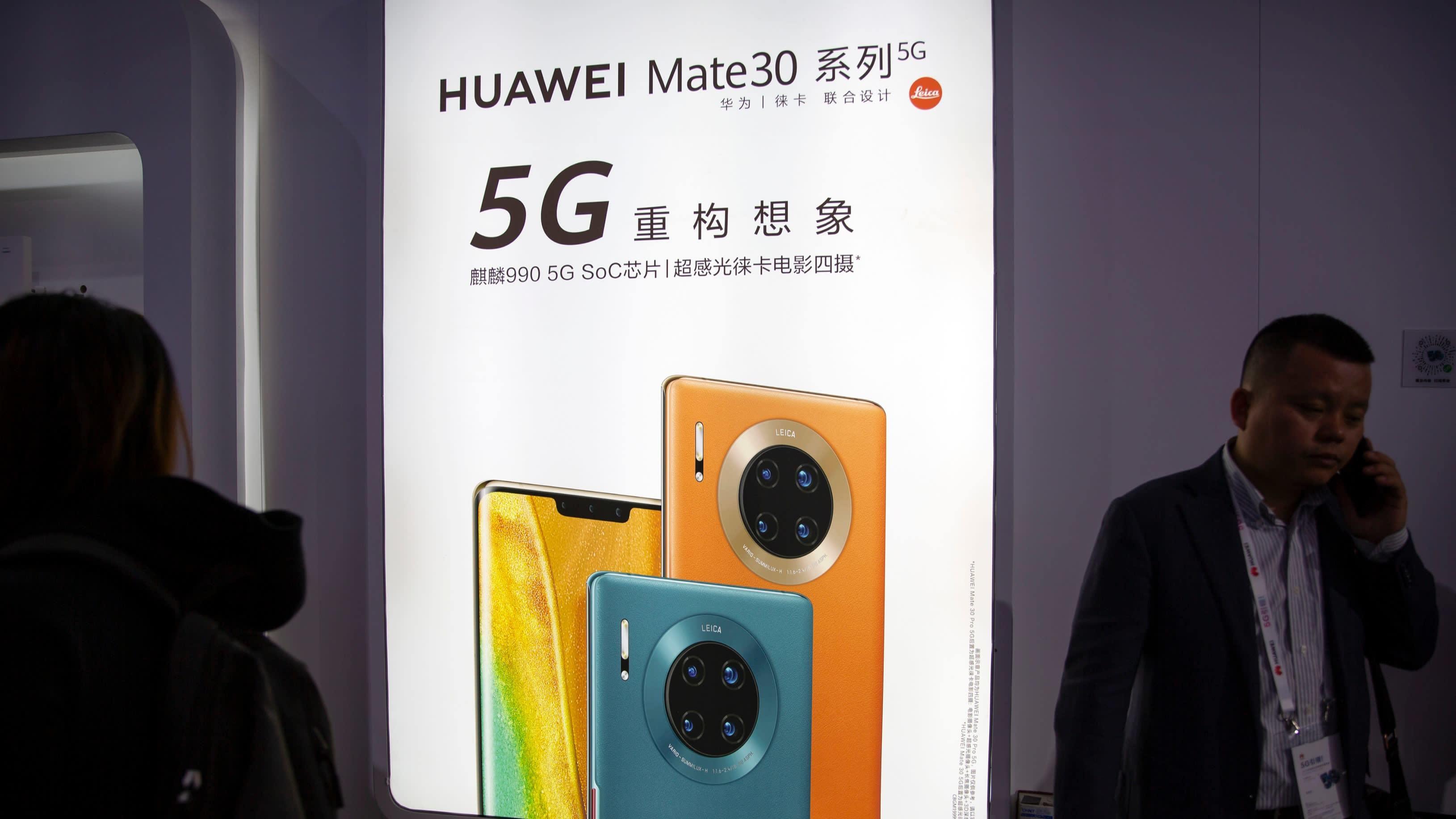 Huawei hoãn sản xuất flagship Mate vì lệnh cấm của Mỹ