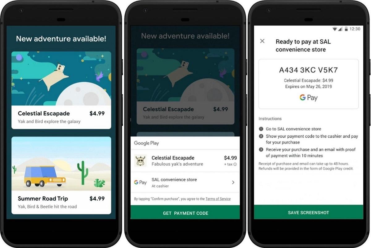 Google Play mở thanh toán bằng tiền mặt tại Indonesia và Malaysia
