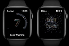 Apple Watch phát hiện người dùng có rửa tay đủ lâu hay không