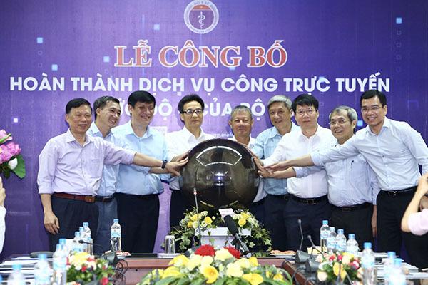 Bộ Y tế và Bộ TT&TT hoàn thành 100% dịch vụ công trực tuyến mức 4