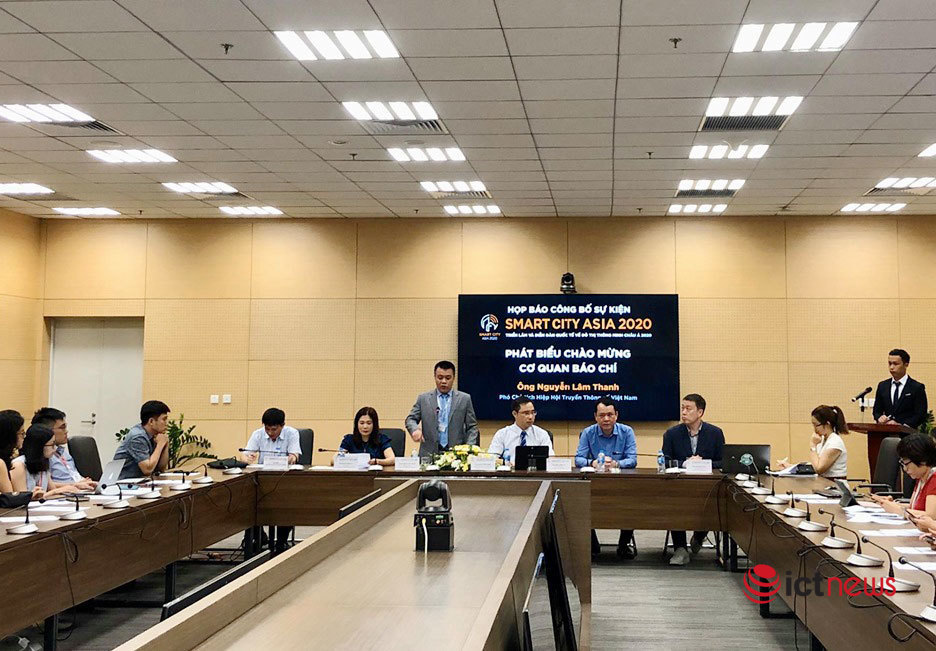Triển lãm chuyên ngành về đô thị thông minh Smart City Asia 2020 khai mạc vào tháng 9