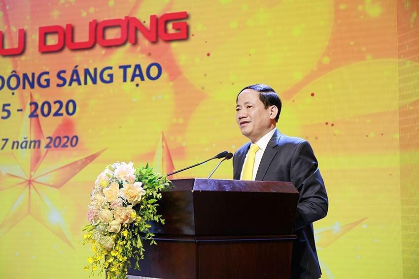 'Lao động giỏi, lao động sáng tạo đã giúp Vietnam Post đổi mới thành công'