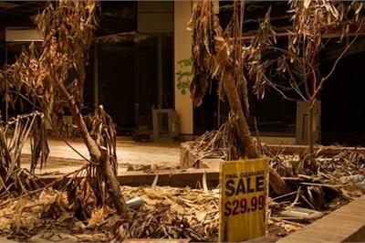 Loạt trung tâm thương mại sang chảnh bị bỏ hoang khắp nước Mỹ