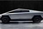 Hình dáng kỳ dị của xe bán tải chống đạn Tesla Cybertruck