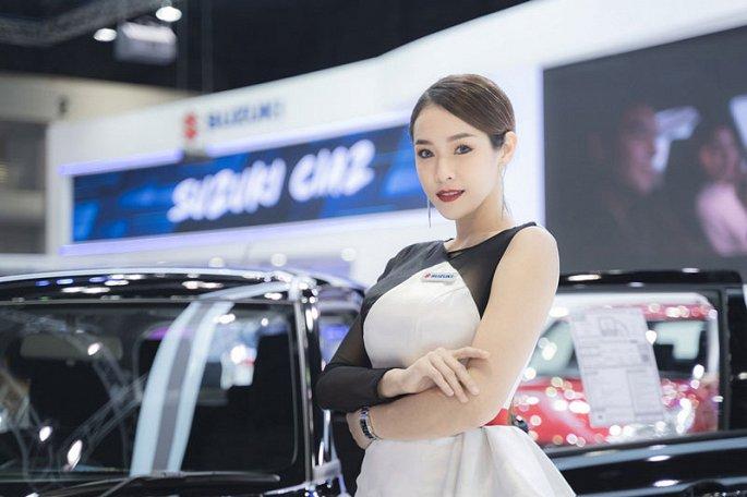 Ngam dan my nhan xinh dep tai Thailand International Motor Expo 2019 hinh anh 2