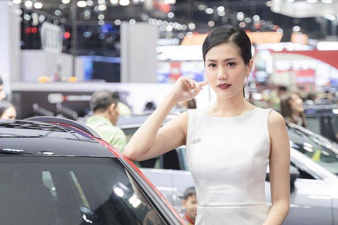 Ngam dan my nhan xinh dep tai Thailand International Motor Expo 2019 hinh anh 4