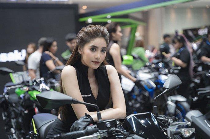 Ngam dan my nhan xinh dep tai Thailand International Motor Expo 2019 hinh anh 7