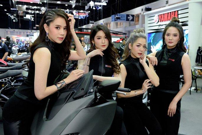Ngam dan my nhan xinh dep tai Thailand International Motor Expo 2019 hinh anh 12