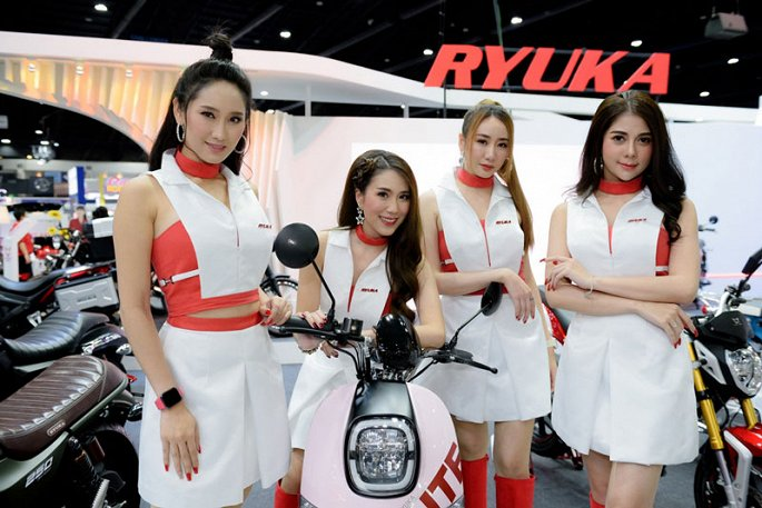 Ngam dan my nhan xinh dep tai Thailand International Motor Expo 2019 hinh anh 13