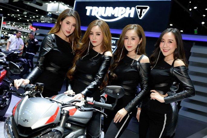 Ngam dan my nhan xinh dep tai Thailand International Motor Expo 2019 hinh anh 14