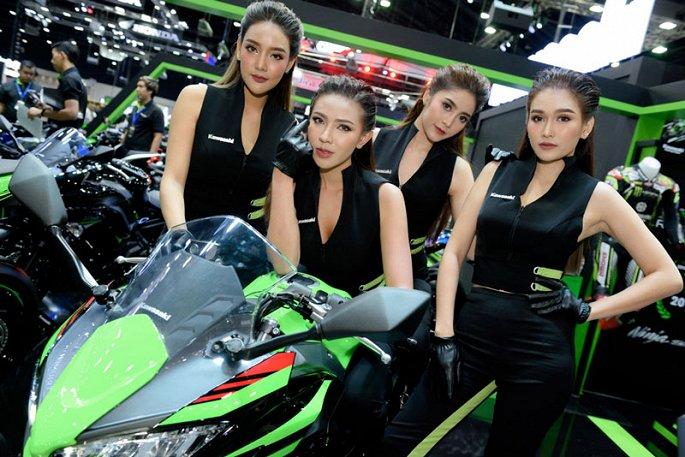 Ngam dan my nhan xinh dep tai Thailand International Motor Expo 2019 hinh anh 5
