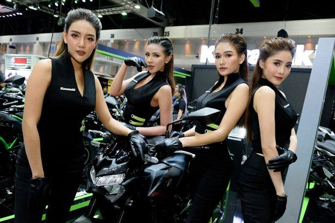 Ngam dan my nhan xinh dep tai Thailand International Motor Expo 2019 hinh anh 6