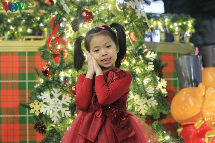 hanoi's streets lit up with array of festive christmas decorations hinh 14