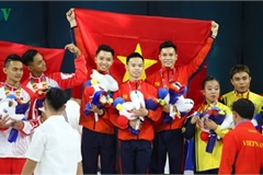 Vietnamese athletes win 70 gold medals during ongoing SEA Games 30