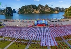 Thousands enthusiastic about Yoga Day in Ha Long