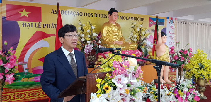 vietnamese citizens in mozambique celebrate buddha's 2563rd birthday hinh 1